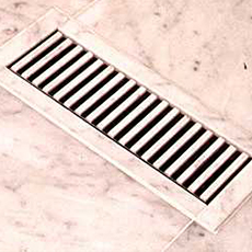 Chameleon Floor Registers - Vent Covers