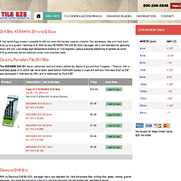 Vist our online store to purchase select TILE EZE Products online
